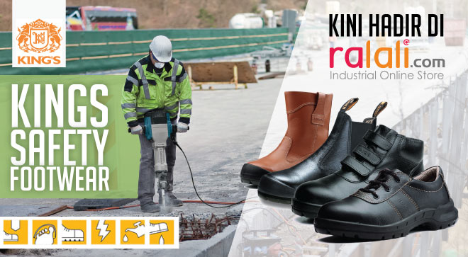 Safety shoes king murah dan berkualitas