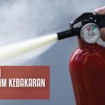 Alat pemadam kebakaran api jenis powder
