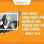 """""""Failure is simply the opportunity to begin again, this time more intelligently."""" – Henry Ford"""