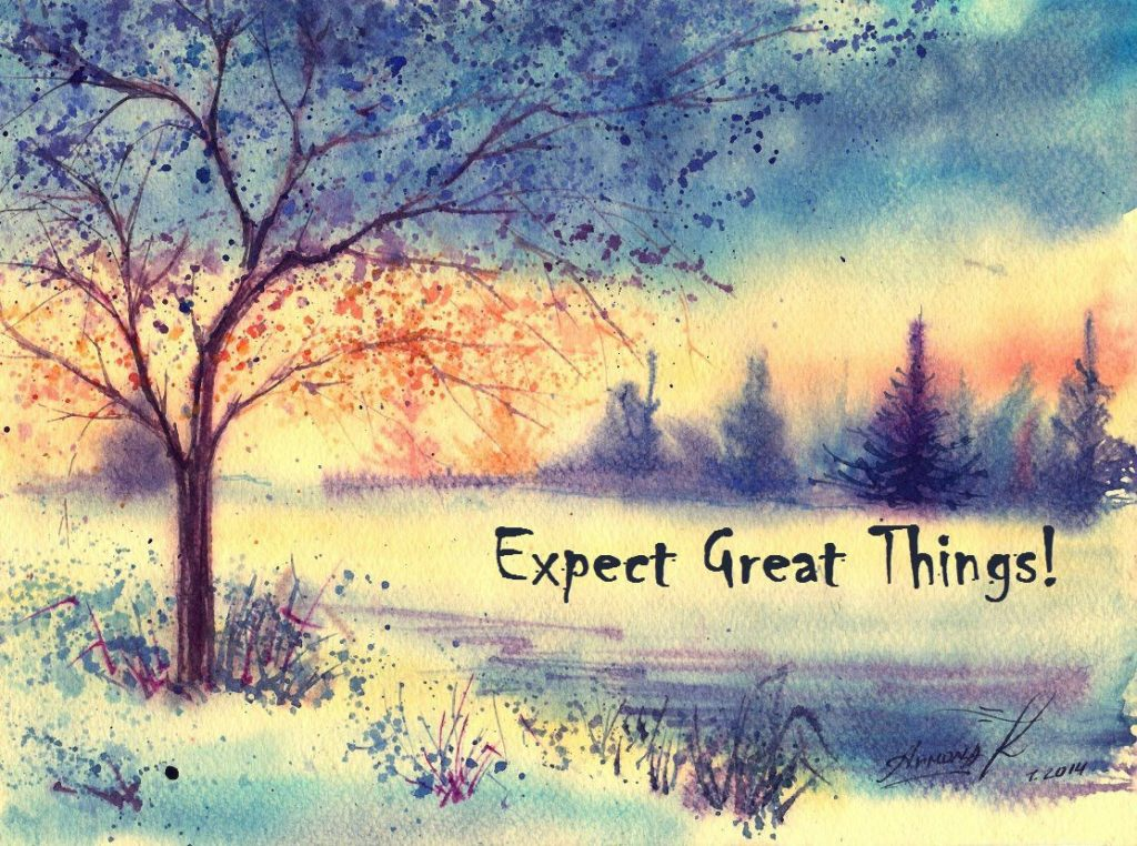 Expecting Great Things