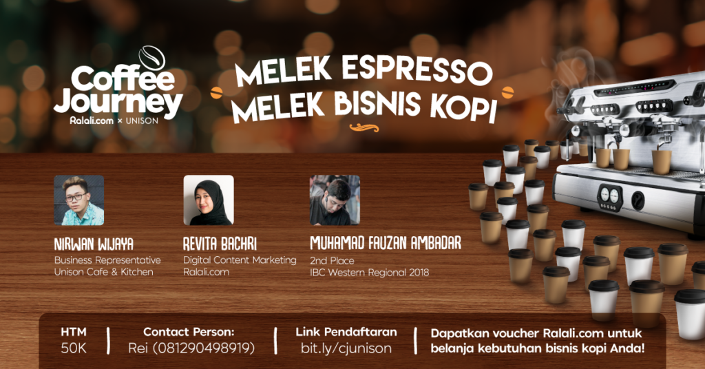 Pembicara coffee journey