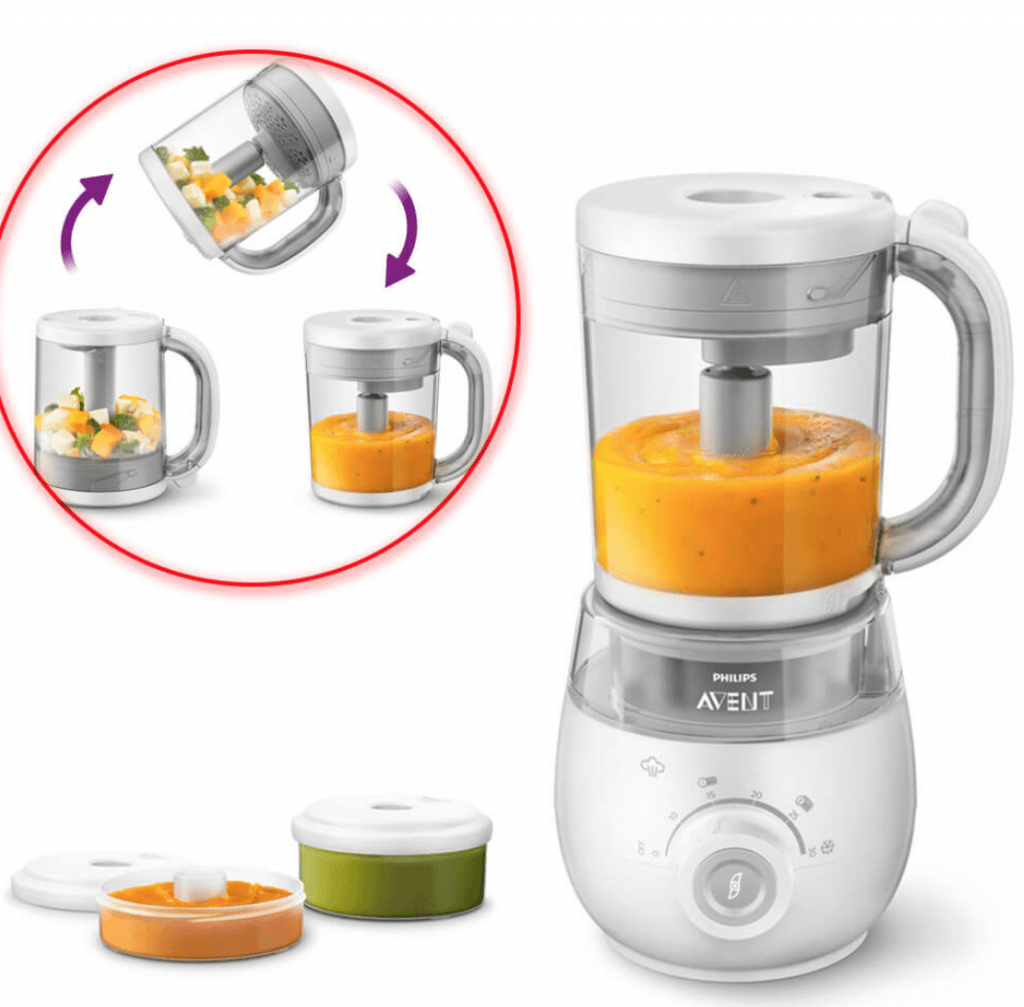 Philips Avent Healthy Baby Food Maker 4 in 1